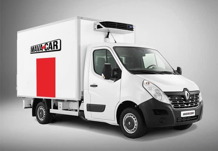 furgone con cella frigorifera di Mavacar