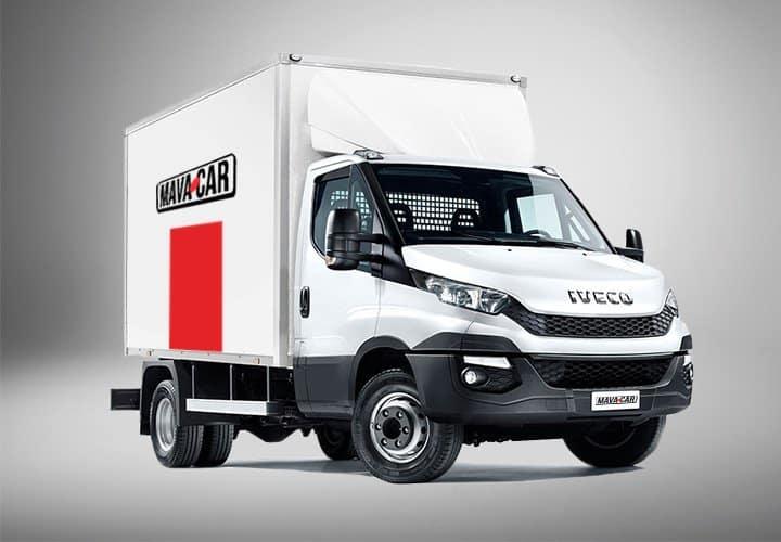 Noleggio furgone centinato con sponda idraulica di Mavacar